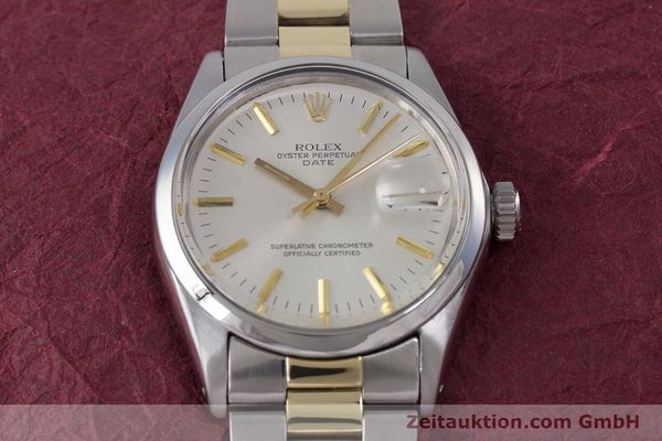 Used luxury watch Rolex Date steel automatic Kal. 1570 Ref. 1500  | 160020 15