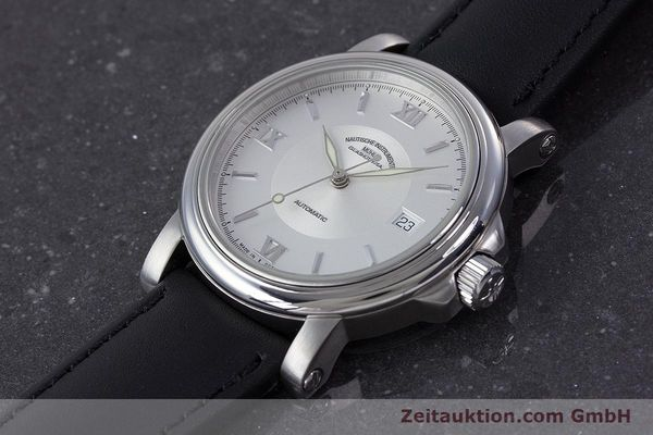 Used luxury watch Mühle Mercurius steel automatic Kal. ETA 2824-2 Ref. M1-24-20  | 160021 01