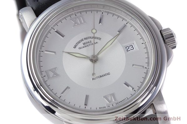 Used luxury watch Mühle Mercurius steel automatic Kal. ETA 2824-2 Ref. M1-24-20  | 160021 02