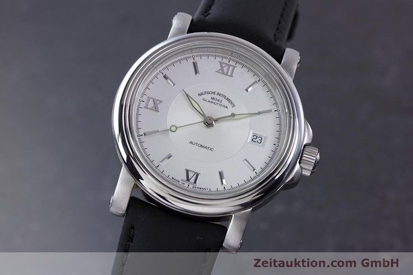 Used luxury watch Mühle Mercurius steel automatic Kal. ETA 2824-2 Ref. M1-24-20  | 160021 04