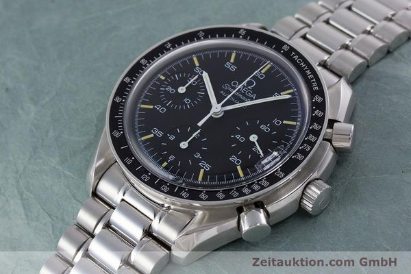 Used luxury watch Omega Speedmaster chronograph steel automatic Kal. 1143 ETA 2890A2 Ref. 17500321  | 160027 01