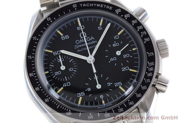 Used luxury watch Omega Speedmaster chronograph steel automatic Kal. 1143 ETA 2890A2 Ref. 17500321  | 160027 02