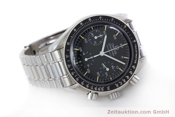 Used luxury watch Omega Speedmaster chronograph steel automatic Kal. 1143 ETA 2890A2 Ref. 17500321  | 160027 03