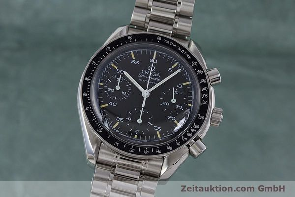 Used luxury watch Omega Speedmaster chronograph steel automatic Kal. 1143 ETA 2890A2 Ref. 17500321  | 160027 04