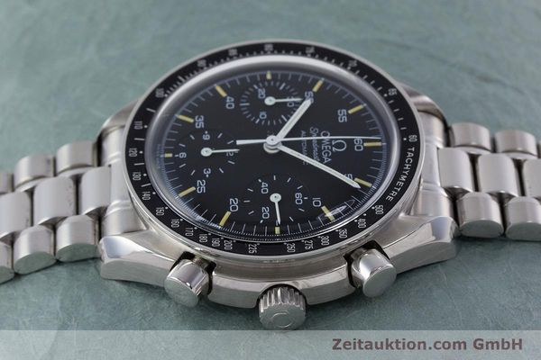Used luxury watch Omega Speedmaster chronograph steel automatic Kal. 1143 ETA 2890A2 Ref. 17500321  | 160027 05