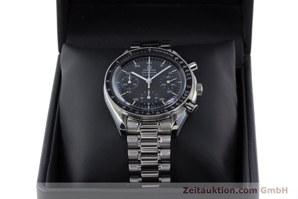 Used luxury watch Omega Speedmaster chronograph steel automatic Kal. 1143 ETA 2890A2 Ref. 17500321  | 160027 07