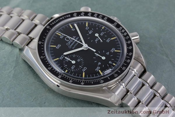 Used luxury watch Omega Speedmaster chronograph steel automatic Kal. 1143 ETA 2890A2 Ref. 17500321  | 160027 14
