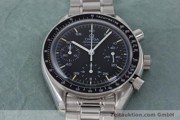 Used luxury watch Omega Speedmaster chronograph steel automatic Kal. 1143 ETA 2890A2 Ref. 17500321  | 160027 15