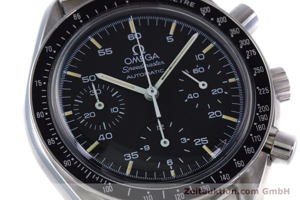 Used luxury watch Omega Speedmaster chronograph steel automatic Kal. 1140 ETA 2890-2  | 160029 02
