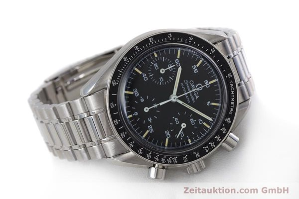 Used luxury watch Omega Speedmaster chronograph steel automatic Kal. 1140 ETA 2890-2  | 160029 03