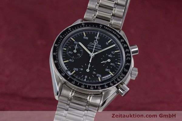 Used luxury watch Omega Speedmaster chronograph steel automatic Kal. 1140 ETA 2890-2  | 160029 04