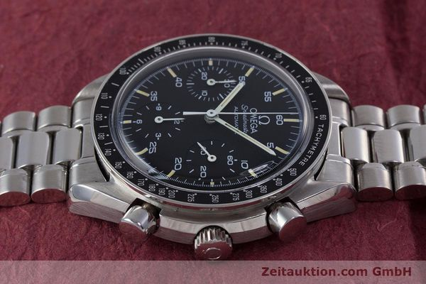 Used luxury watch Omega Speedmaster chronograph steel automatic Kal. 1140 ETA 2890-2  | 160029 05