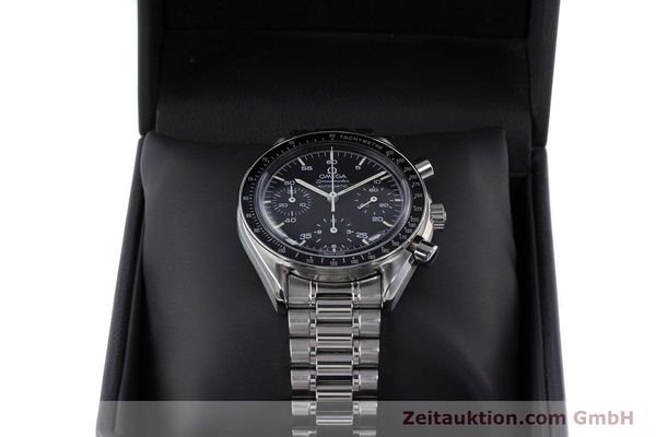 Used luxury watch Omega Speedmaster chronograph steel automatic Kal. 1140 ETA 2890-2  | 160029 07