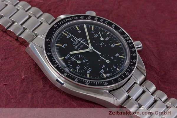 Used luxury watch Omega Speedmaster chronograph steel automatic Kal. 1140 ETA 2890-2  | 160029 15