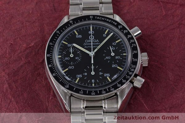 Used luxury watch Omega Speedmaster chronograph steel automatic Kal. 1140 ETA 2890-2  | 160029 16