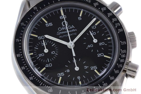 Used luxury watch Omega Speedmaster chronograph steel automatic Kal. 1140 ETA 2890-2  | 160032 02