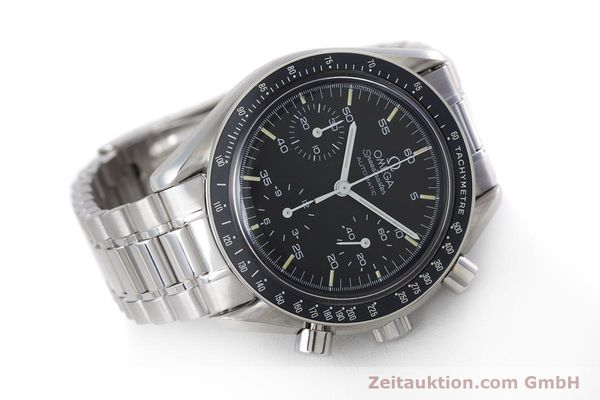 Used luxury watch Omega Speedmaster chronograph steel automatic Kal. 1140 ETA 2890-2  | 160032 03