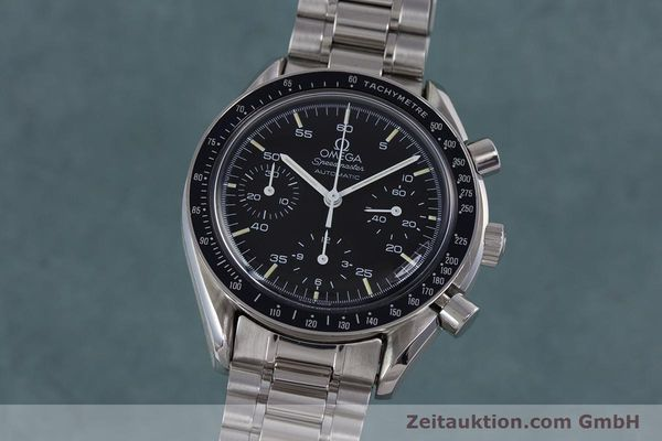 Used luxury watch Omega Speedmaster chronograph steel automatic Kal. 1140 ETA 2890-2  | 160032 04
