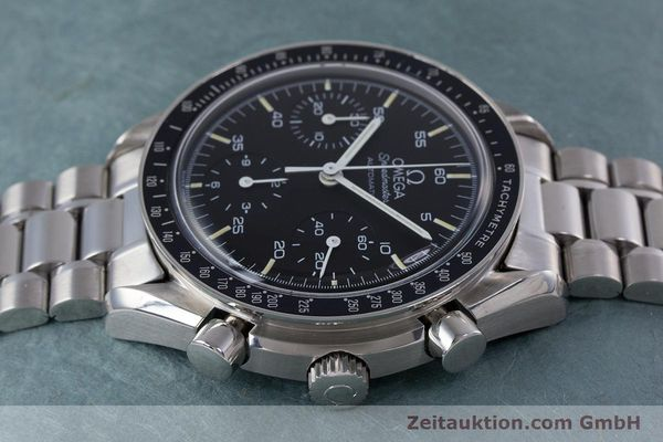 Used luxury watch Omega Speedmaster chronograph steel automatic Kal. 1140 ETA 2890-2  | 160032 05