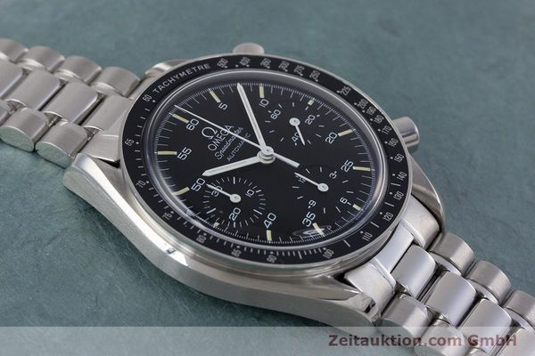 Used luxury watch Omega Speedmaster chronograph steel automatic Kal. 1140 ETA 2890-2  | 160032 14