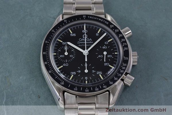 Used luxury watch Omega Speedmaster chronograph steel automatic Kal. 1140 ETA 2890-2  | 160032 15