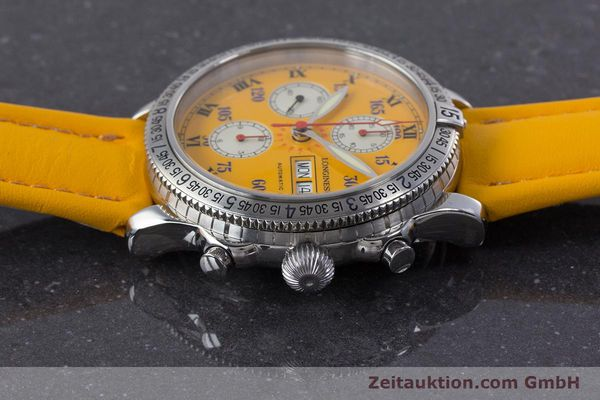 Used luxury watch Longines Lindbergh Stundenwinkel chronograph steel automatic Kal. L674.8 ETA 7750 Ref. L2.618.4  | 160040 05