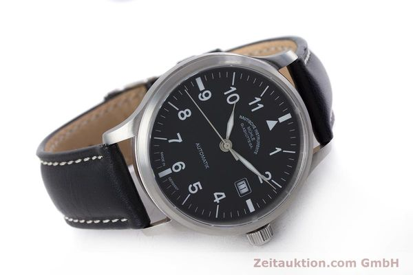 Used luxury watch Mühle Terrasport  steel automatic Kal. Sellita SW200-1 Ref. M1-37-60  | 160042 03