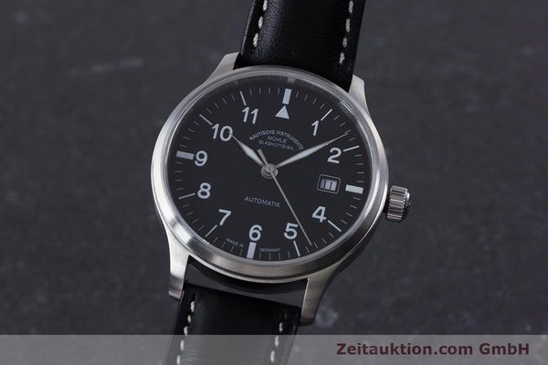 Used luxury watch Mühle Terrasport  steel automatic Kal. Sellita SW200-1 Ref. M1-37-60  | 160042 04