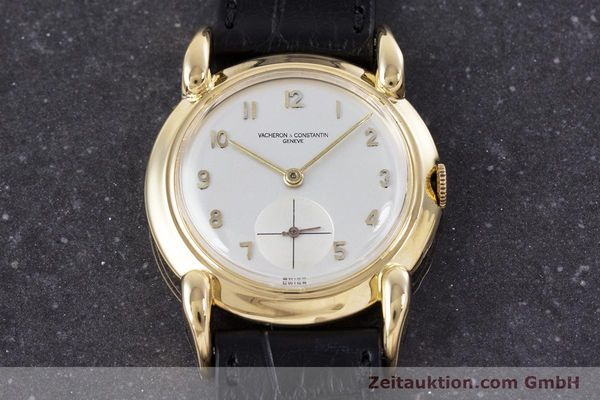 Used luxury watch Vacheron & Constantin * 18 ct gold manual winding Kal. 458/2 Ref. 455309 VINTAGE  | 160046 14