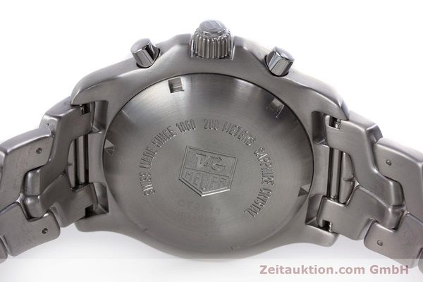 Used luxury watch Tag Heuer Link chronograph steel automatic Kal. ETA 7750 Ref. CT2113  | 160047 09