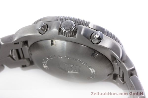Used luxury watch Tag Heuer Link chronograph steel automatic Kal. ETA 7750 Ref. CT2113  | 160047 11