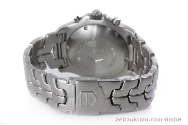 Used luxury watch Tag Heuer Link chronograph steel automatic Kal. ETA 7750 Ref. CT2113  | 160047 12