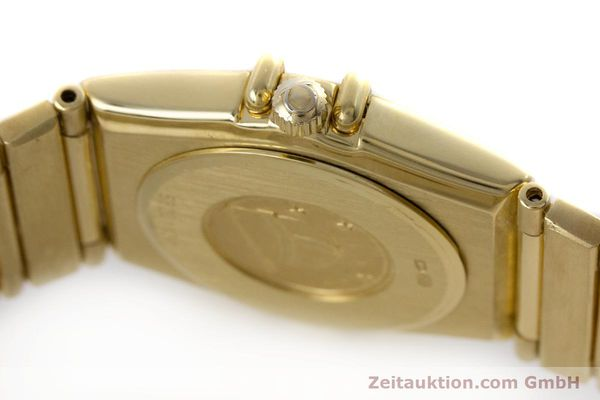 gebrauchte Luxusuhr Omega Constellation 18k Gold Quarz Kal. 1455  | 160052 08