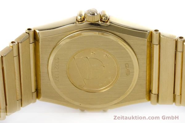 gebrauchte Luxusuhr Omega Constellation 18k Gold Quarz Kal. 1455  | 160052 09