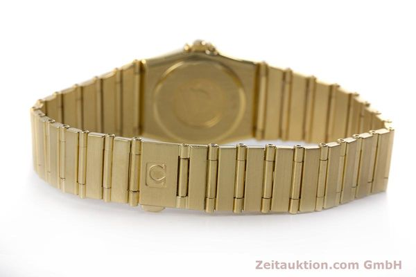 gebrauchte Luxusuhr Omega Constellation 18k Gold Quarz Kal. 1455  | 160052 11