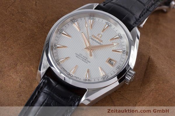Used luxury watch Omega Seamaster steel automatic Kal. 8500 Ref. 23113422102002  | 160055 01