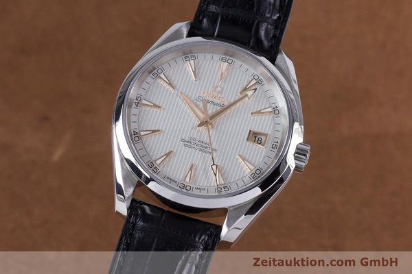 Used luxury watch Omega Seamaster steel automatic Kal. 8500 Ref. 23113422102002  | 160055 04