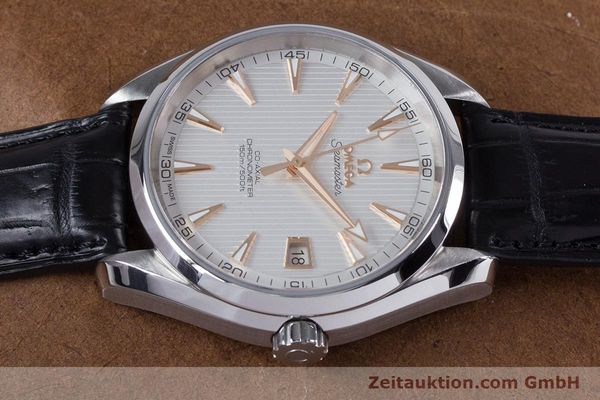 Used luxury watch Omega Seamaster steel automatic Kal. 8500 Ref. 23113422102002  | 160055 05