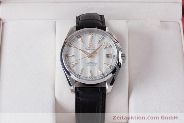 Used luxury watch Omega Seamaster steel automatic Kal. 8500 Ref. 23113422102002  | 160055 07