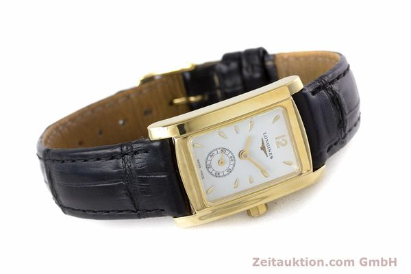 Used luxury watch Longines Dolce Vita 18 ct gold quartz Kal. ETA 980.153 Ref. L5.155.6  | 160058 03