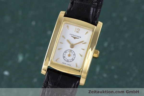 Used luxury watch Longines Dolce Vita 18 ct gold quartz Kal. ETA 980.153 Ref. L5.155.6  | 160058 04