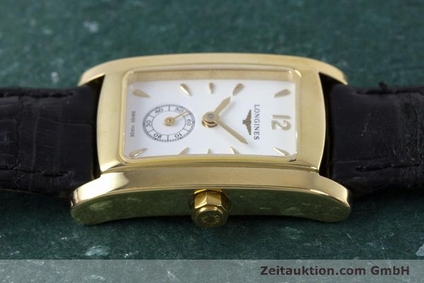 Used luxury watch Longines Dolce Vita 18 ct gold quartz Kal. ETA 980.153 Ref. L5.155.6  | 160058 05