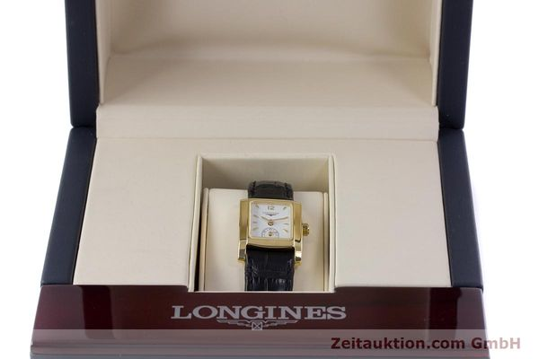 Used luxury watch Longines Dolce Vita 18 ct gold quartz Kal. ETA 980.153 Ref. L5.155.6  | 160058 07
