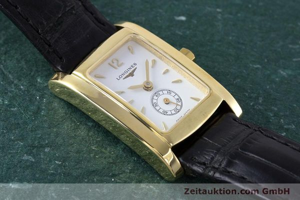 Used luxury watch Longines Dolce Vita 18 ct gold quartz Kal. ETA 980.153 Ref. L5.155.6  | 160058 14