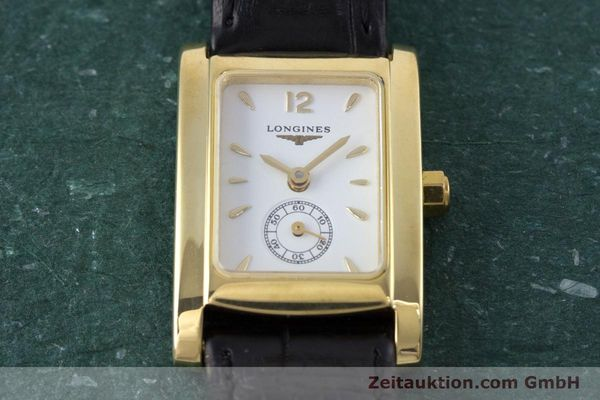 Used luxury watch Longines Dolce Vita 18 ct gold quartz Kal. ETA 980.153 Ref. L5.155.6  | 160058 15