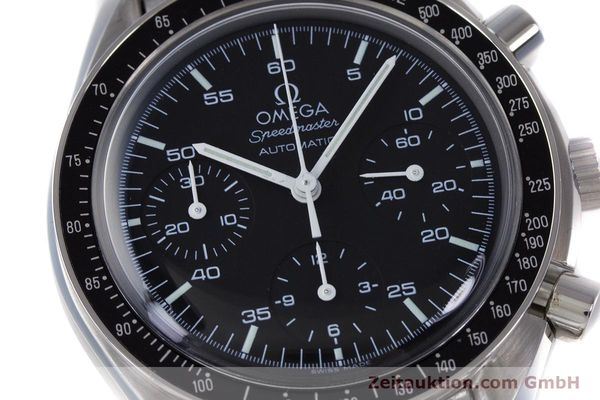 Used luxury watch Omega Speedmaster chronograph steel automatic Kal. 3220A  | 160065 02