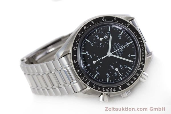 Used luxury watch Omega Speedmaster chronograph steel automatic Kal. 3220A  | 160065 03