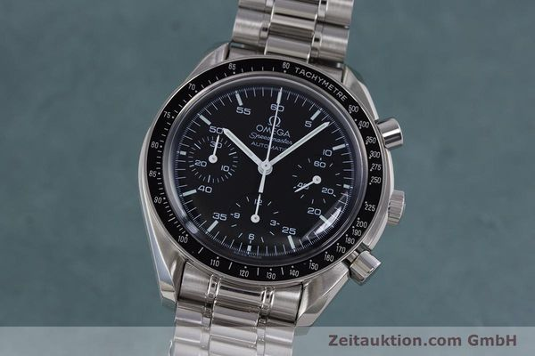 Used luxury watch Omega Speedmaster chronograph steel automatic Kal. 3220A  | 160065 04