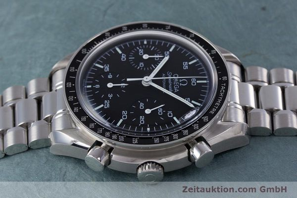 Used luxury watch Omega Speedmaster chronograph steel automatic Kal. 3220A  | 160065 05