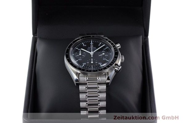 Used luxury watch Omega Speedmaster chronograph steel automatic Kal. 3220A  | 160065 07